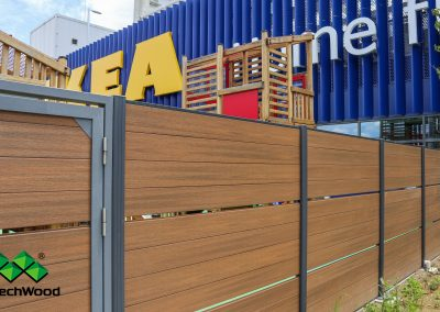 newtechwood composite decking fence